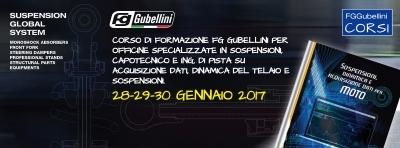 Corso di Formazione Tecnica FG Gubellini - 28-29-30 gennaio 2017