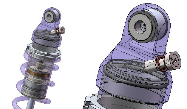 Ammortizzatore posteriore FQE - FG Gubellini