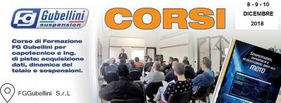 CORSO DI FORMAZIONE FG GUBELLINI - 08 E 09 + 10 DICEMBRE 2018