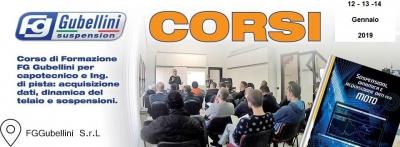 CORSO DI FORMAZIONE FG GUBELLINI - 12/13 + 14 GENNAIO 2019